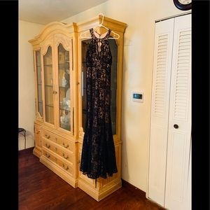 Long Black evening dress, Great to holiday parties